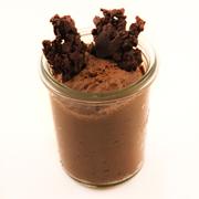 Image de Mousse au chocolat, crispy cardamome