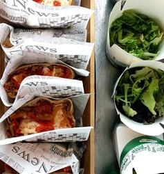 Image de Tacos au boeuf & salade verte