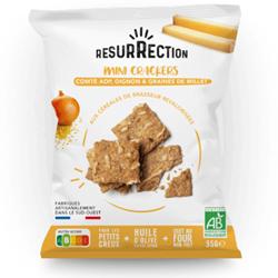 Image de Mini Crackers Comté, oignons & graines- 35gr
